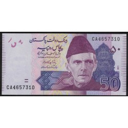 Pakistan P47e 50 Rupias 2011
