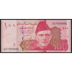 Pakistan P48e 100 Rupias 2010 UNC