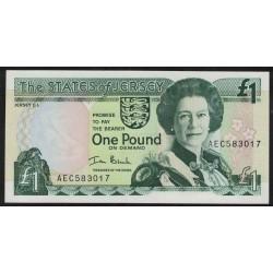 Jersey P26b 1 Pound 2000 UNC