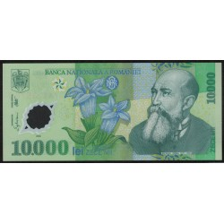 Rumania Polimero P112 10000 Lei Año 2000 UNC