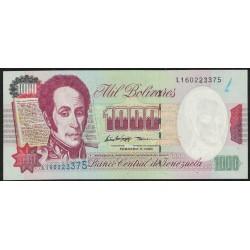 Venezuela P76c 1000 Bolivares 1998 UNC