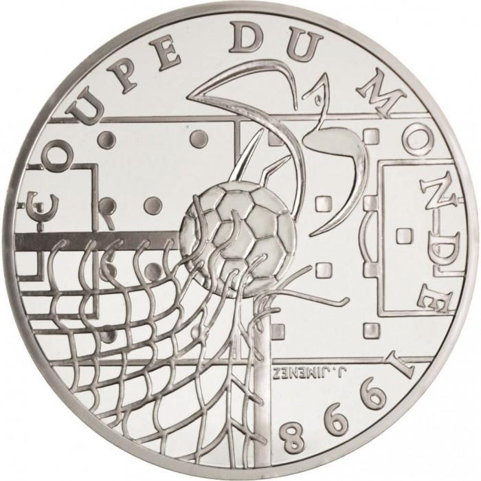 """Francia KM1144 10 Francos 1996 UNC """"Mundial 1998"""""""