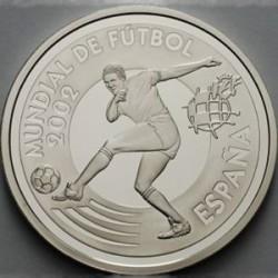 """España KM1079 10 Euros 2002 """"Copa Mundial Fifa 2002"""" UNC"""