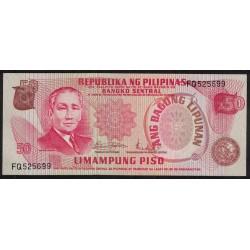 Filipinas P156a 50 Piso UNC