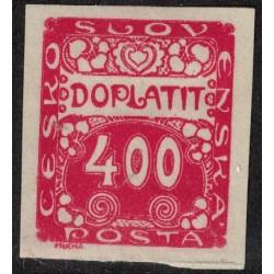 Checoslovaquia Taxe Yv-11 Nuevo Sin Goma