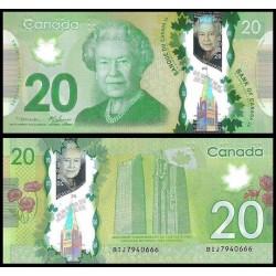Canada P108a 20 Dolares 2012 Polimero