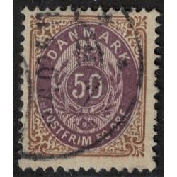 Dinamarca Yv-28 12 1/2 Usado
