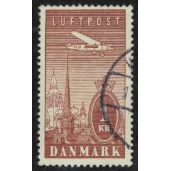 Dinamarca Aereo Yv-10 Usado