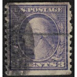 Estados Unidos Yv-169L (Dentado 10 Vertical) Usado