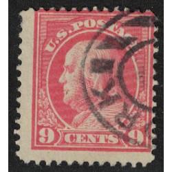 Estados Unidos Yv-186 Dentado 12 Usado