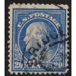 Estados Unidos Yv-191 Dentado 12 Usado