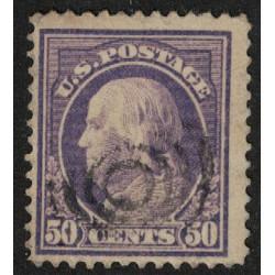Estados Unidos Yv-193 Dentado 12 Usado