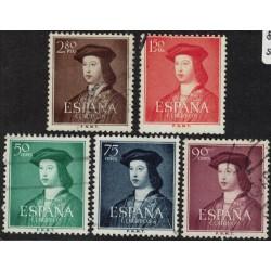 España Yv-826/830 Serie Completa Usados