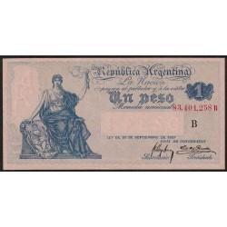 B1546 1 Peso Caja de Conversion B 1919 UNC