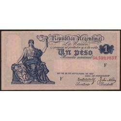 B1566 1 Peso Caja de Conversion F 1935