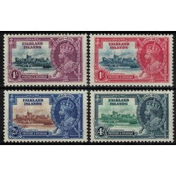 Islas Malvinas Yv-71/74 Serie Completa Nuevos con resto de bisagra