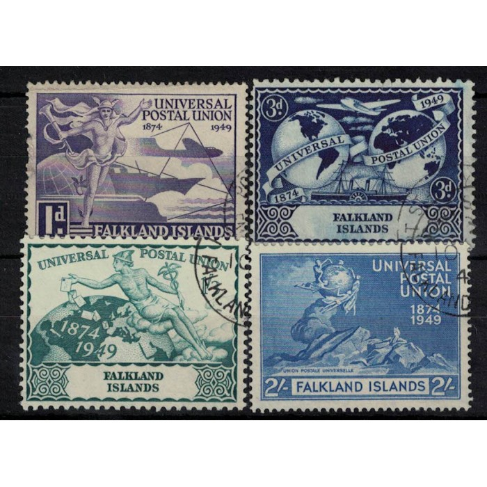 Islas Malvinas Yv-97/100 Usados