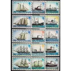 Islas Malvinas Yv-254/268 Mint