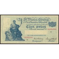 B1897 100 Pesos Progreso Ley 12.155 C 1941