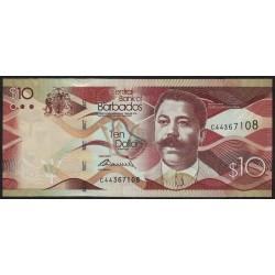 Barbados P75 10 Dolares 2013 UNC