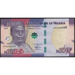 Nigeria 100 Naira 2014 UNC