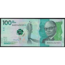 Colombia 100.000 Pesos 2014 UNC