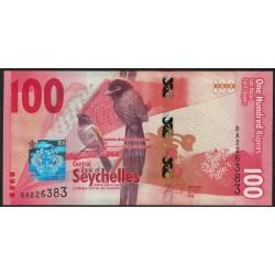 Seychelles 100 Rupias 2016 UNC