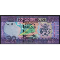 Islas Salomon 20 Dolares 2016 UNC