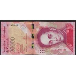 Venezuela 20000 Bolivares 2016 UNC