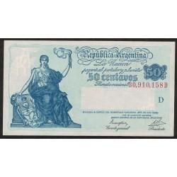 B1805 50 Centavos Progreso Ley 12.155 D 1946 UNC