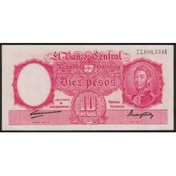 B1936 10 Pesos Ley 12.155 A 1948