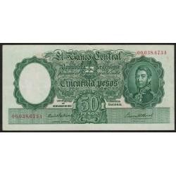 B1974 50 Pesos Ley 12.155 A 1942