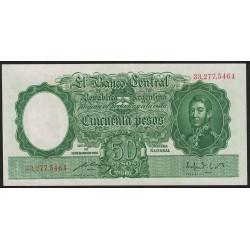 B1984 50 Pesos Ley 12.155 A 1949