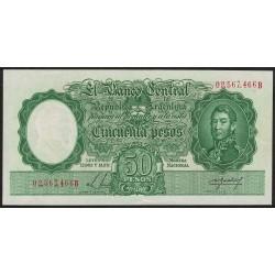 B1991 50 Pesos Leyes 12.962 y 13.571 B 1955