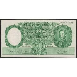B1996 50 Pesos Leyes 12.962 y 13.571 B 1959