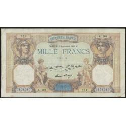 Francia P79b 1000 Francos 1931