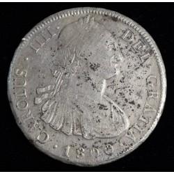Potosi 8 Reales 1800 PP CJ76.12 Carlos IIII