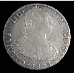 Potosi 8 Reales 1808 PP CJ76.20 Carlos IIII