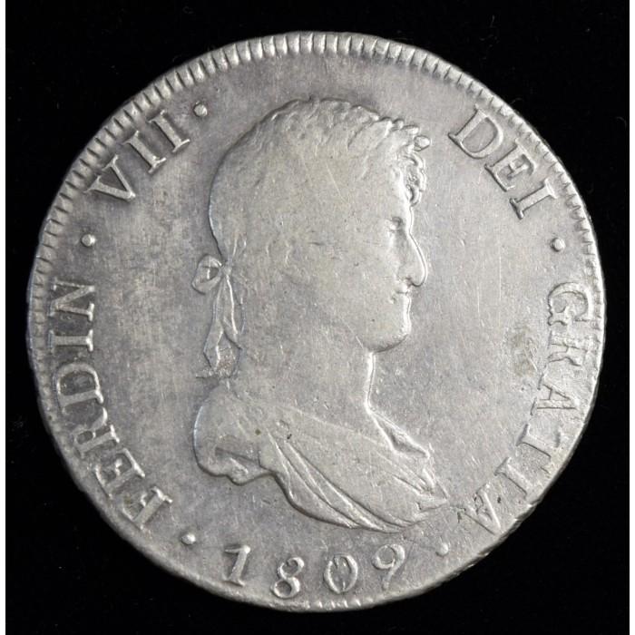 Potosi 8 Reales 1809 PJ CJ86.2 Fernando VII