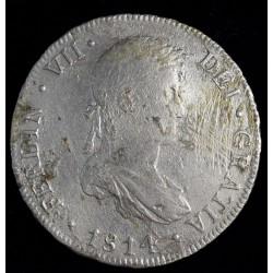 Potosi 8 Reales 1814 PJ CJ86.4.3 Fernando VII