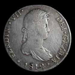 Lima 8 Reales 1812 JP KM117.1