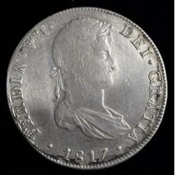 Lima 8 Reales 1817 JP KM117.1