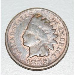 EE.UU KM90a 1 Centavo 1889