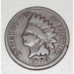 EE.UU KM90a 1 Centavo 1893