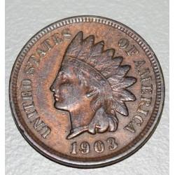 EE.UU KM90a 1 Centavo 1903