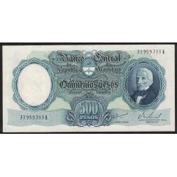 B2122 500 Pesos Moneda Nacional A 1967 UNC