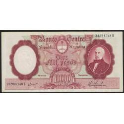 B2195 10000 Pesos Moneda Nacional B 1967