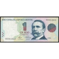 B3001 1 Peso Convertible A 1992 UNC