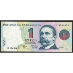B3002 1 Peso Convertible B 1992 UNC