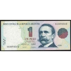 B3006 1 Peso Convertible B 1993 Filigrana 3B UNC